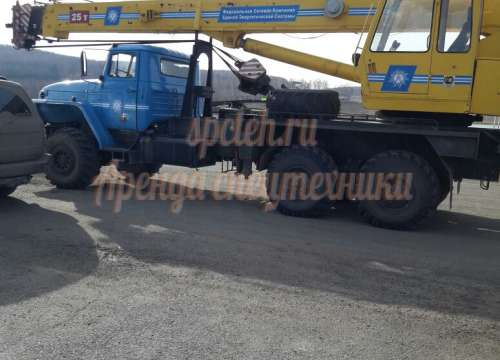 Автокран КС-45721 УРАЛ