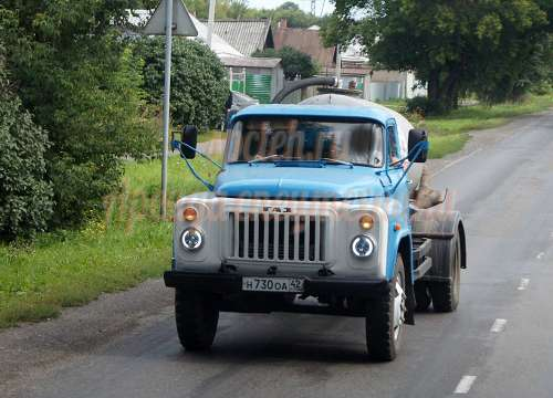 Ассенизатор ГАЗ 53